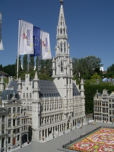 Model Of Brussels Square