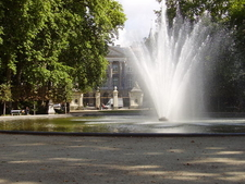 Brussels Park In Summer