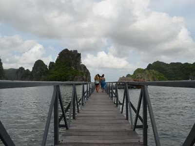Bridge At Monkey Island Cat Ba