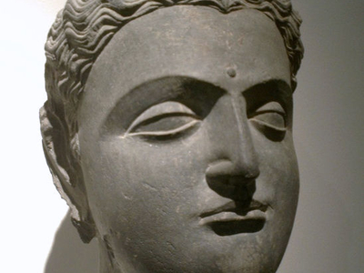 Gandhara Buddha Head
