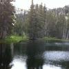Bull Run Lake, Carson-Iceberg Wilderness
