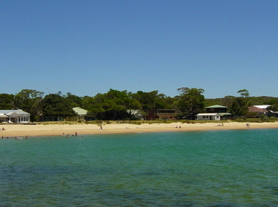 Bundeena View From Cronulla And As Viewed From The Wharf At Bund