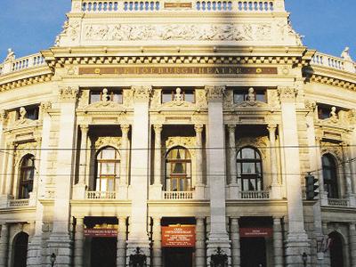 Burgtheater Main Entrance