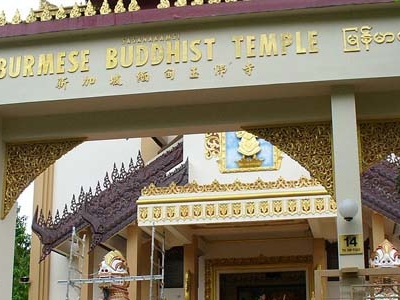 Burmese Buddhist Temple Singapore