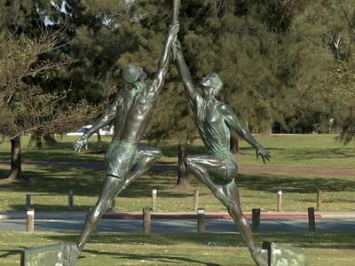Burswood  Park Olympians
