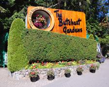 Butchart Gardens Entrance