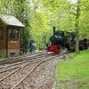 Bronhilde Pulling Into Stony Shaw Station