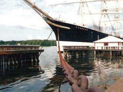 The Museum Ship Pommern At Aland