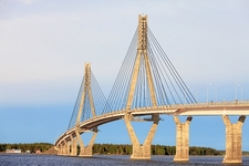 Cable-Stayed Replot Bridge - Finland