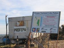 Cabo Pulmo NP Sign Board