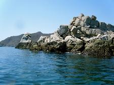 Cabo Pulmo Rocks Along Coast