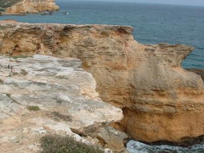 Cabo  Rojo Limestone Cliffs
