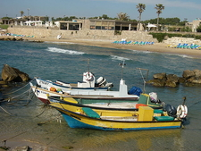 Caesarea Maritima Fishing Boats - Israel