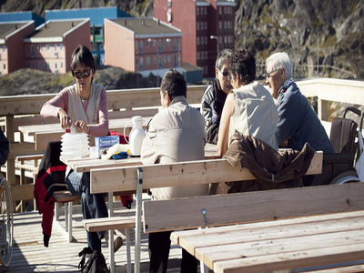 Cafe In Maniitsoq