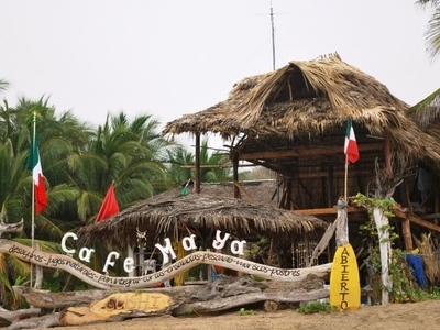Cafe Maya Housed In A Palapa