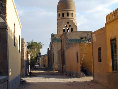 Street With Tombs
