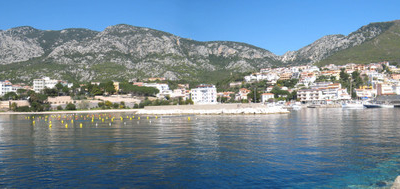 Cala Gonone From The Pier