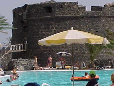 Caleta De Fuste And Its Castle