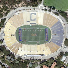 Aerial View Of California Memorial Stadium