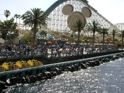 California Screamin' Launching On Paradise Bay