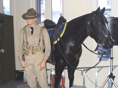 California State Military Museum Exhibit