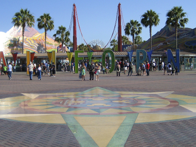 Disney California Adventure Park Entrance