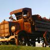 Calistoga Water Truck Sculpture