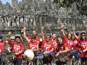 Angkor Cycling Tour Photos