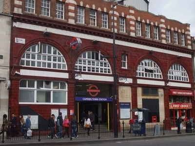 Camden Town Tube Station Building
