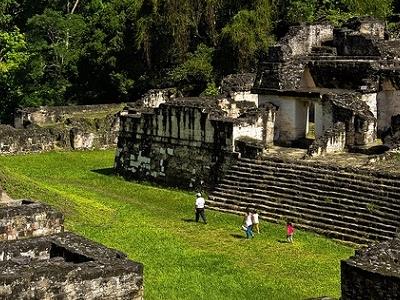 Caminando Por Tikal