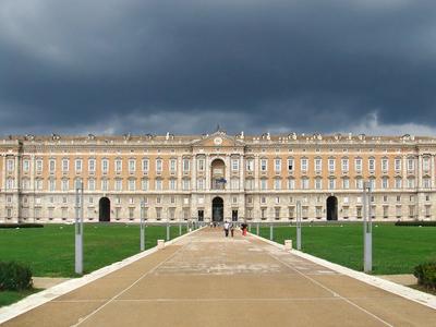 Main Façade Of The Palace