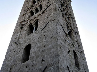 Campanile Of The Anagni Cathedral