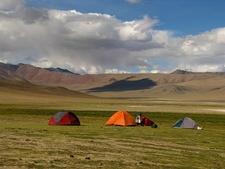 Camp At Pongungu Near Tso Kar - Ladakh J&K