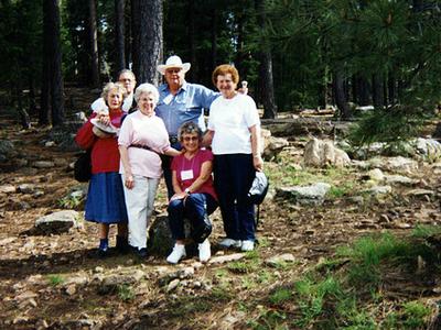 Campers At Kohl's Ranch - Arizona