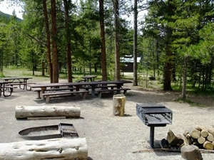 Camp Hale East Fork Group Campground