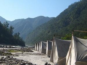 Camping In Rishikesh Fotos