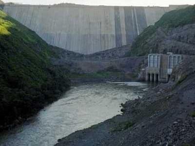Campos Novos  Dam Empty
