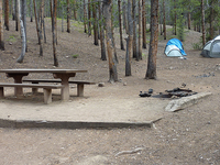 New Bates Wilson Campground