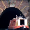 Canal Boat And Islington Tunnel