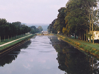 Burgundy Canal At Pouilly-en-Auxois