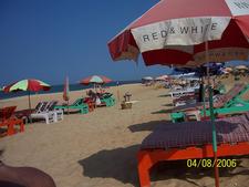 Candolim Beach View