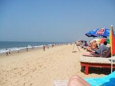 View Of Candolim Beach