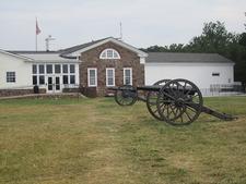 Cannon At Manassas Battlefield