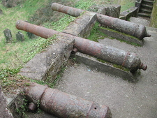 Cannon Battery At Youghal