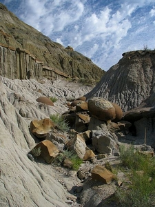 Cannonball Concretions In The North Unit