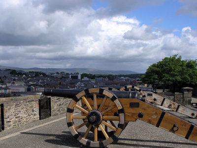 City Walls Of Derry