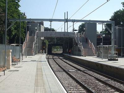 Canonbury Railway Station Platforms