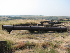 Canons On Top Of Upali Buruj