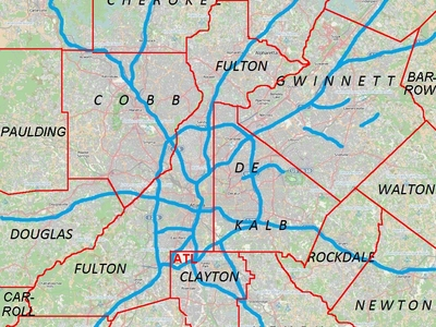 Canton Is Located In Metro Atlanta