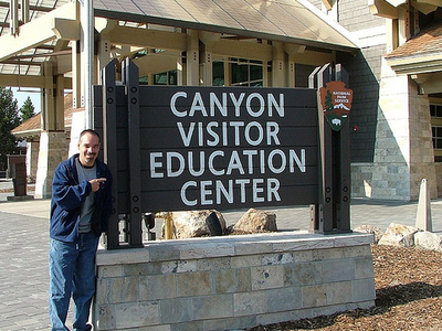 CanyonVisitor Education Center - Yellowstone - Wyoming - USA